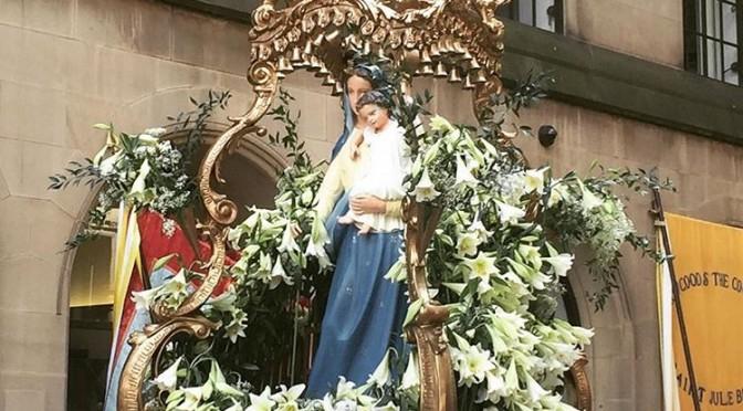 Madonna del Rosario Procession 2018